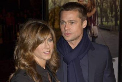 Brad Pitt en Jennifer Aniston