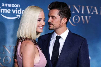 Kary Perry en Orlando Bloom